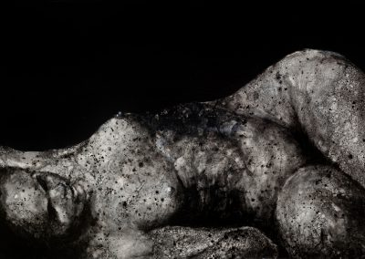 œuvre d'art du peintre Laurent Bouro tableau de la série portrait et corps